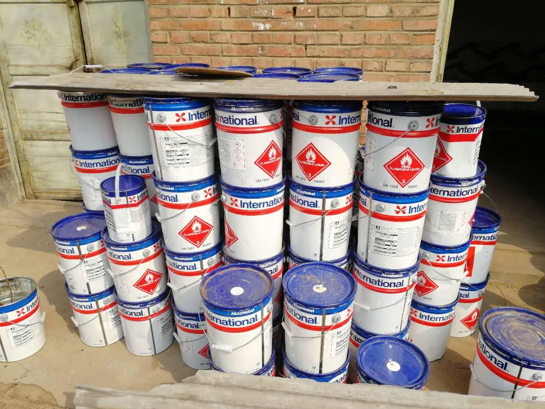 阜阳回收橡胶多年经验回收立邦涂料