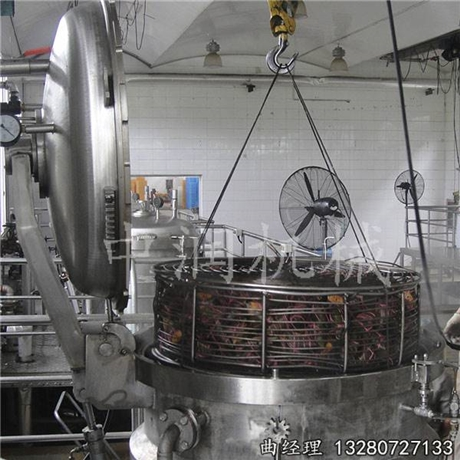 小型电加热高压粽子蒸煮锅设备
