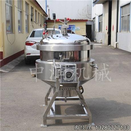 煮粽子效率高的粽子蒸煮锅设备