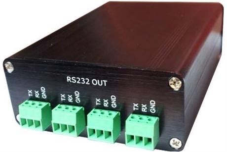 RS232分配器 视频会议专用RS232通讯分配器扩展器NK-RS232-04