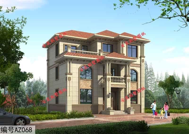 二层半农村房屋设计图,农村建一栋都会让人羡慕!
