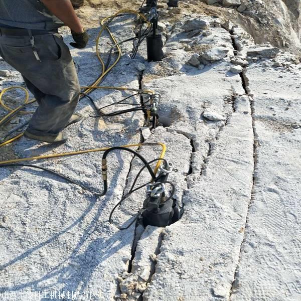 牡丹江液压劈裂器技术参考