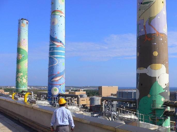 100米烟囱绘画多少钱