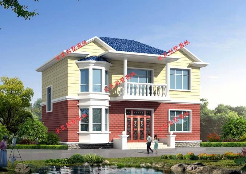 分享6套小户型农村别墅设计图,120平方米房屋设计图更
