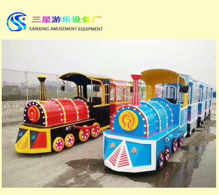 儿童小型游乐设备 托马斯火车游艺设施 夜市摆摊无轨火车厂家