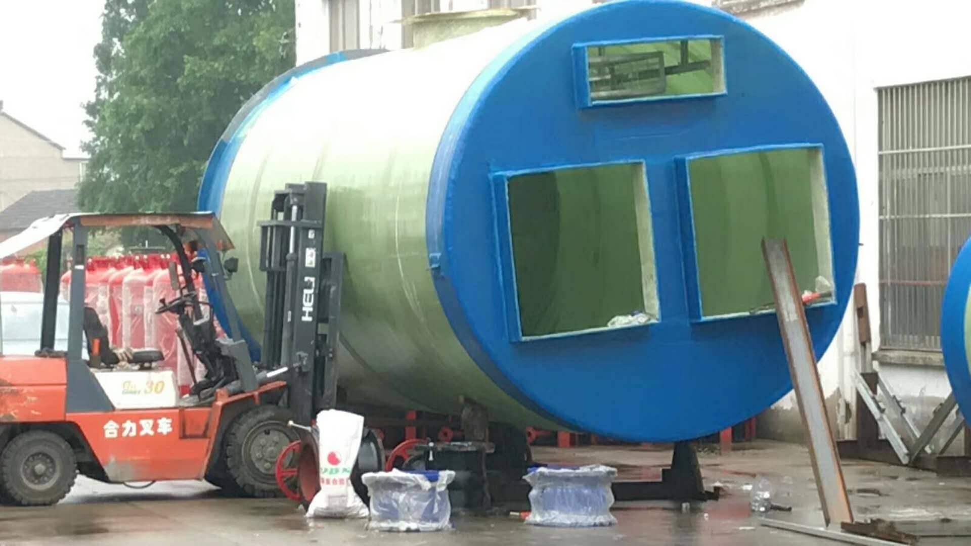 江?#25214;?#20307;化污水提升泵站厂家报价