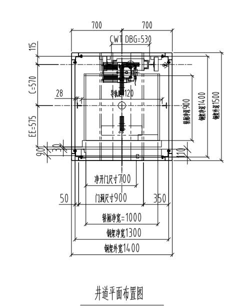 家用电梯能做曳引式不做液压式或螺杆式电梯.   3.图片