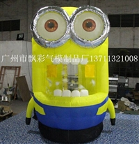 充氣廣告模型天津陸地闖關氣墊