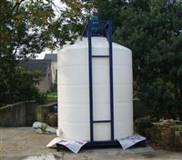 鄂州30噸PE臥式塑料儲罐加厚定制