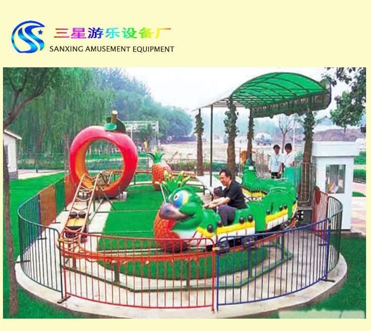 大中型游乐场设备 青虫滑车庙会摆摊游艺设施 户外轨道