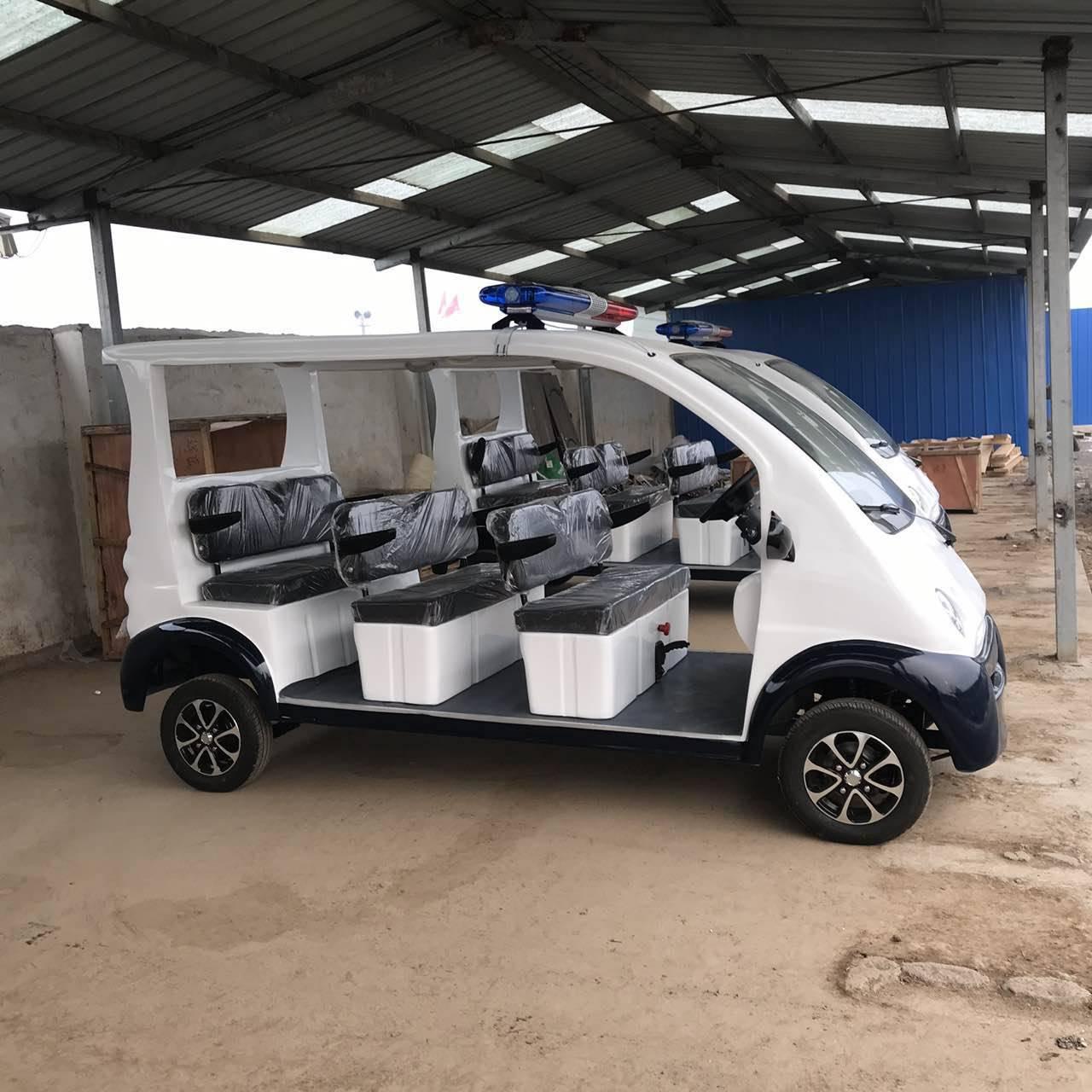 山东电动旅游观光车厂家  7座小型电动观光车价格