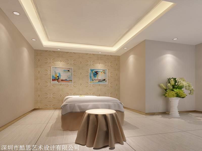 重庆美容院设计200平米的费用 酷思设计