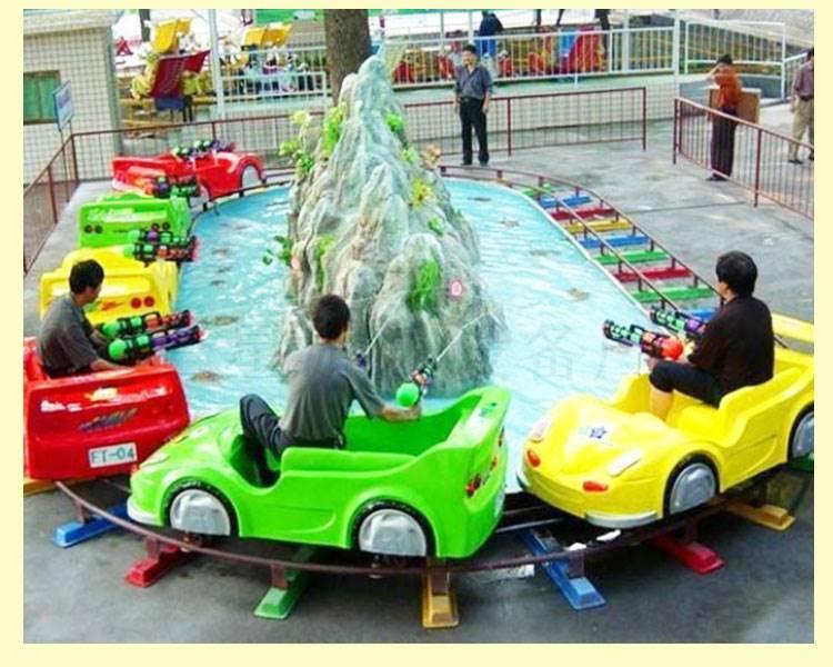 小型玩水儿童游乐设备 水陆战车广场水上儿童 庙会摆摊
