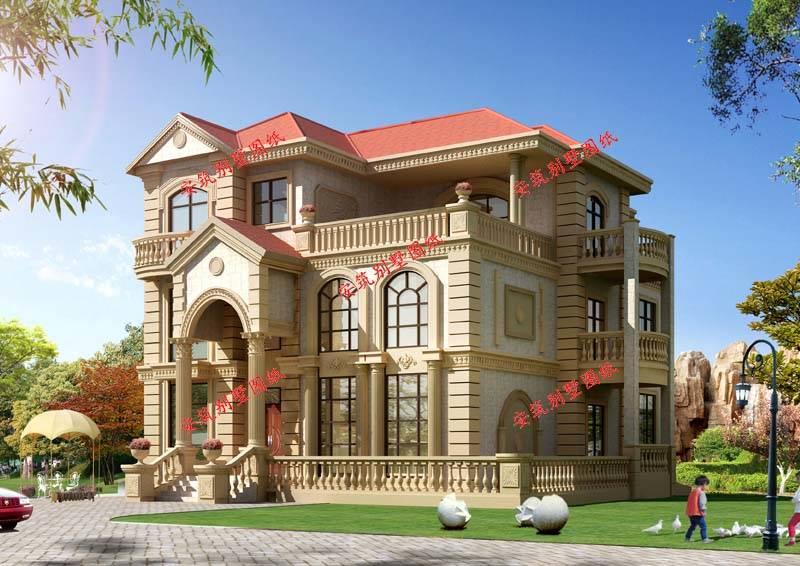 实用的一层别墅设计图纸, 安筑建筑私人订制案例_搜了