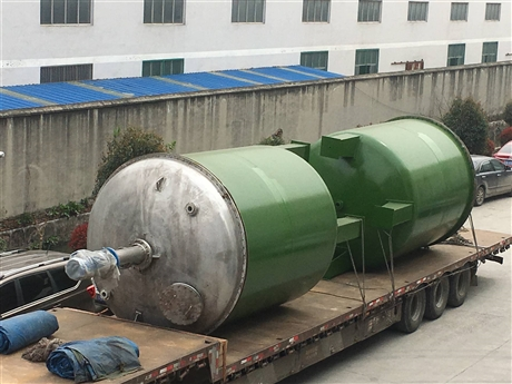 专业生产 离子交换柱厂家 钢衬塑储罐