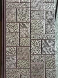 轻钢别墅环保厕所材料,聚氨酯夹芯复合板,外墙装修金属雕花板