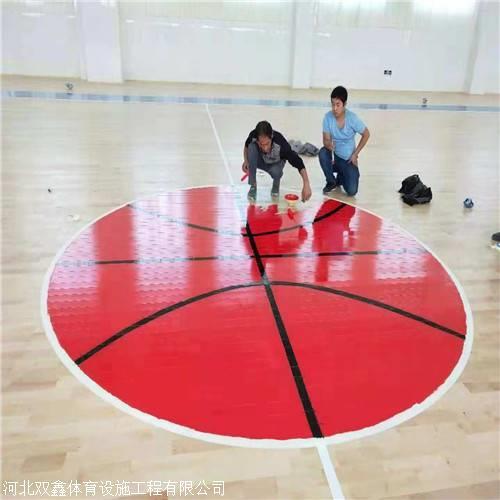 双鑫体育运动木地板 从材质上已经把控好质量啦