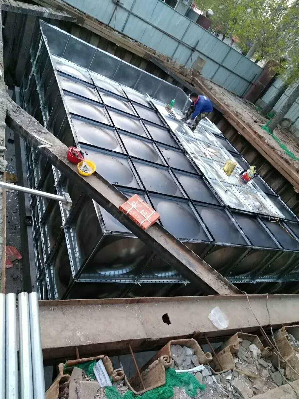 专业地埋箱泵一体化厂家  抗浮地埋水箱