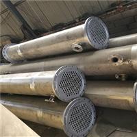 出售二手冷凝器 二手10平方不銹鋼列管式冷凝器