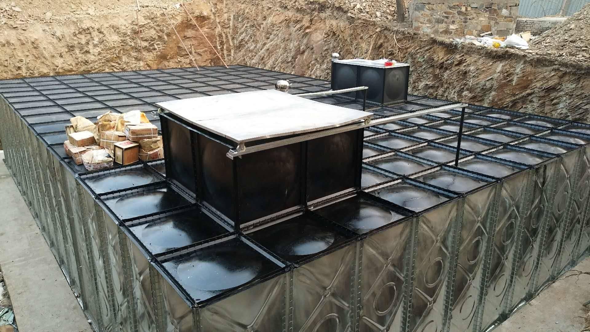地埋式箱泵一体化 地埋水箱厂家