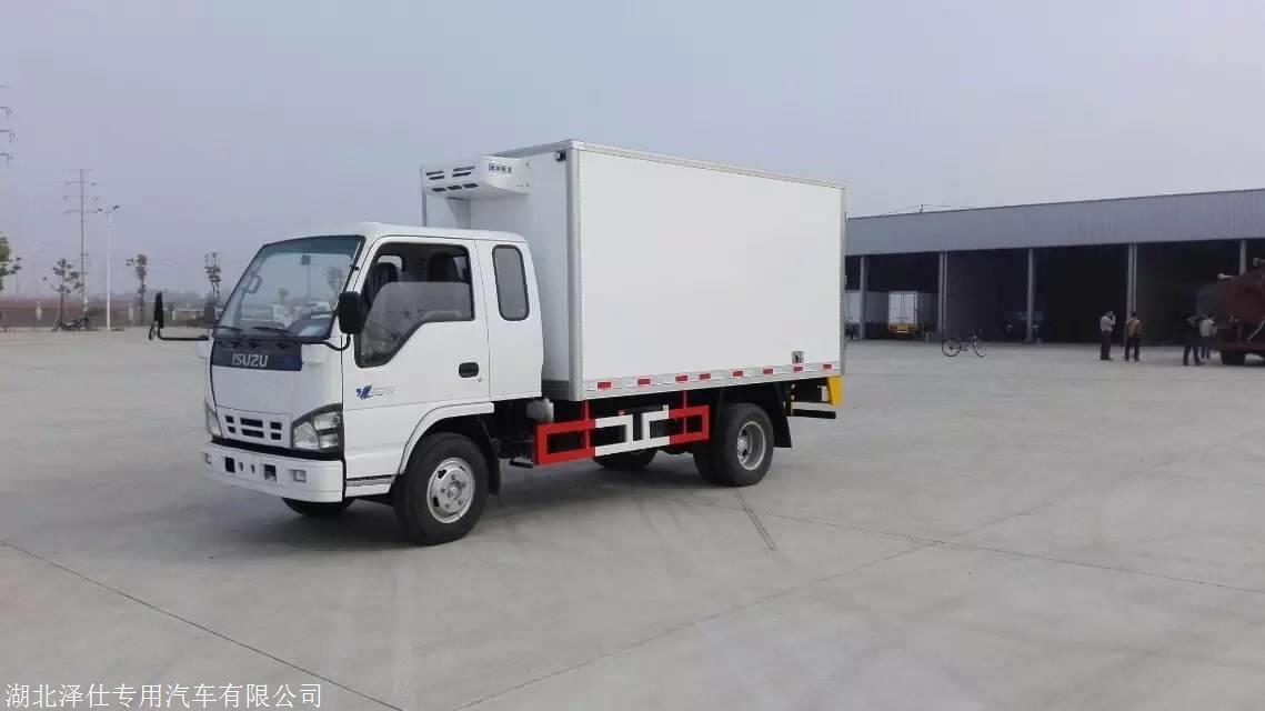 欧马可S3系4.2米冷藏车肉钩车厂家供应