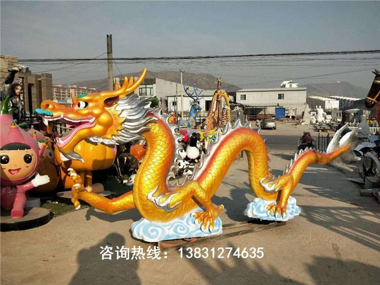 中国龙雕塑,神龙雕塑