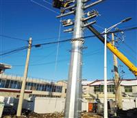 钢杆厂家 13米输电10KV钢杆价格