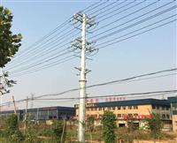 钢杆报价 13米输电10KV钢杆生产厂家