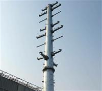 钢杆型号 13米输电10KV钢杆施工方案