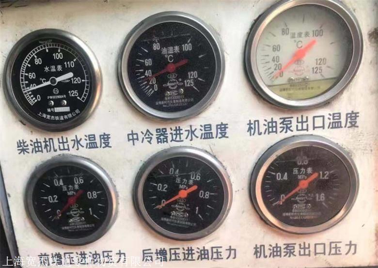 柴油机出水温度表,机油泵出口压力表