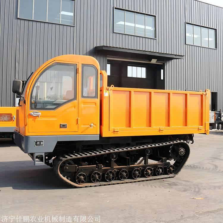 农用履带车履带式运输车参数 水利工程运输材料链轨车图片