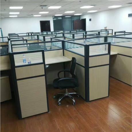 濮陽帶隔斷的學習工位桌