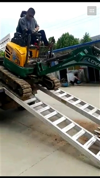 大象牌挖掘机专用铝合金坡道
