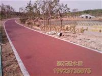 大足 透水混凝土 學校跑道彩色地坪 彩色透水混凝土 彩色混凝土