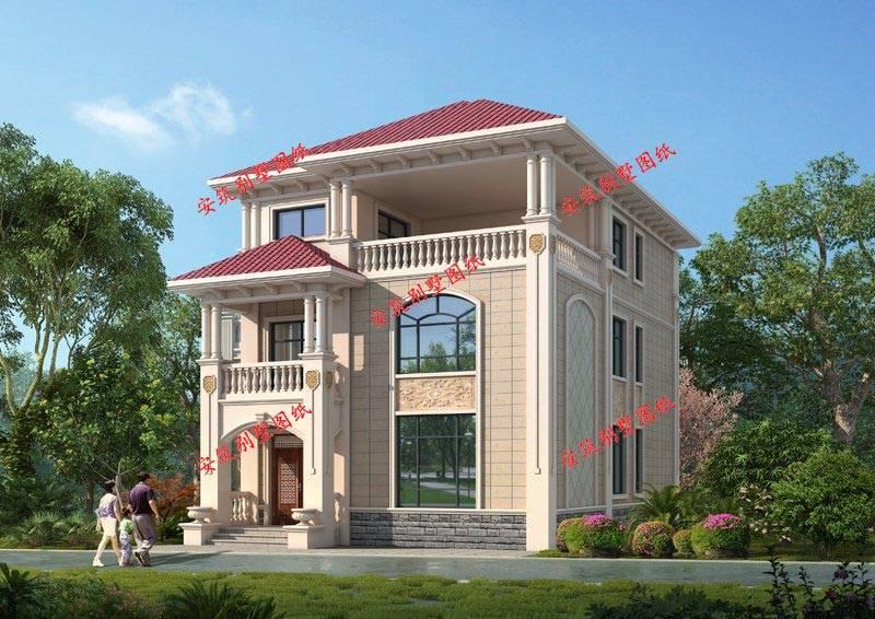 三层别墅设计图,宅基地小,别烦恼,一起来涨姿势