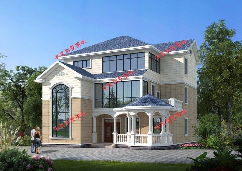 农村更常见的别墅图纸设计