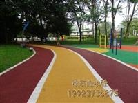 自貢 透水混凝土 學校跑道彩色地坪 彩色透水混凝土 彩色混凝土