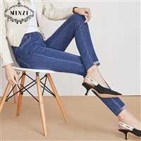 服装进货价表 新作橡筋小脚哈伦裤品牌尾货