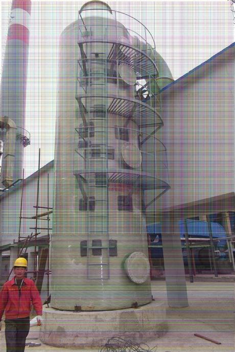 新闻:福州电厂脱硫塔供货商