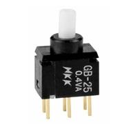 电路板安装按钮开关型号GB-25弯脚按钮开关GB-25AH进口微型按键