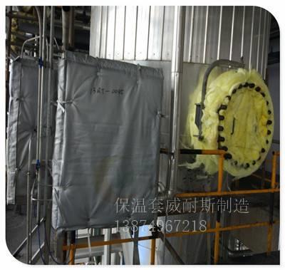 易拆卸电加热罩保温方案