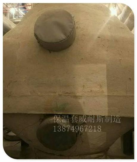 陕西注塑机可拆卸式软保温衣应用