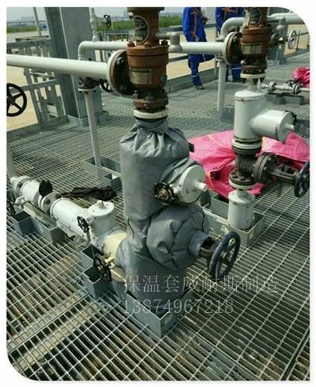 巩义解决方案管式换热器可拆卸式软保温套