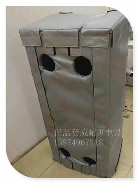 可拆卸软保温套应用