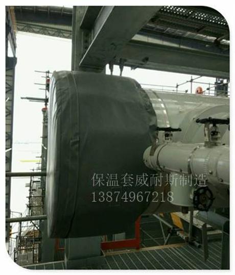 可拆卸炼油厂保温套流程