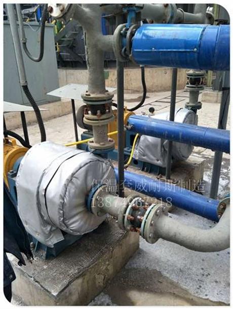 可拆卸式热交换器保温套哪里能定制河南郑州
