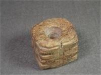 良渚文化黃玉獸面上門收購 價格以及鑒定價格