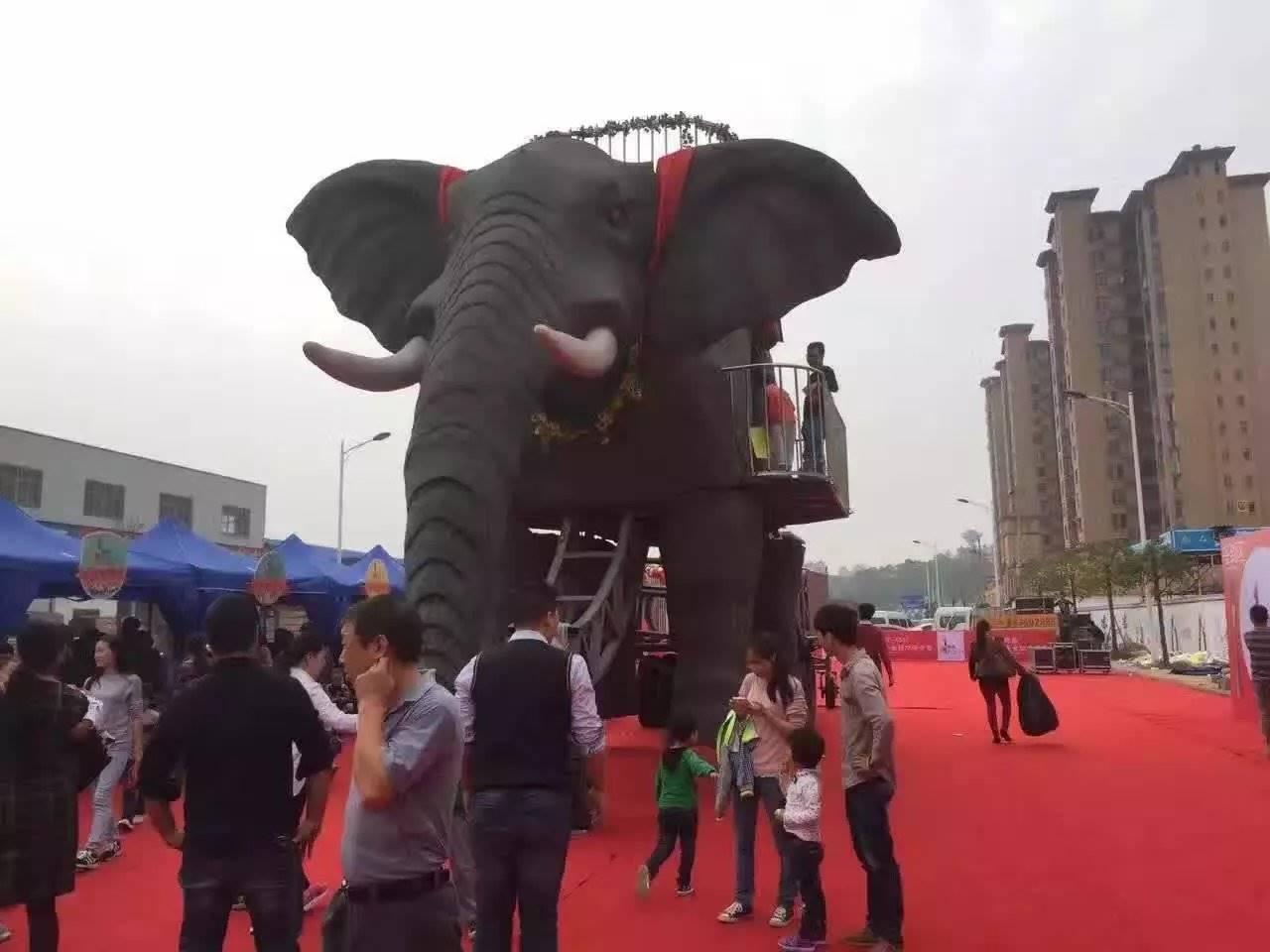 高大上机械大象出租