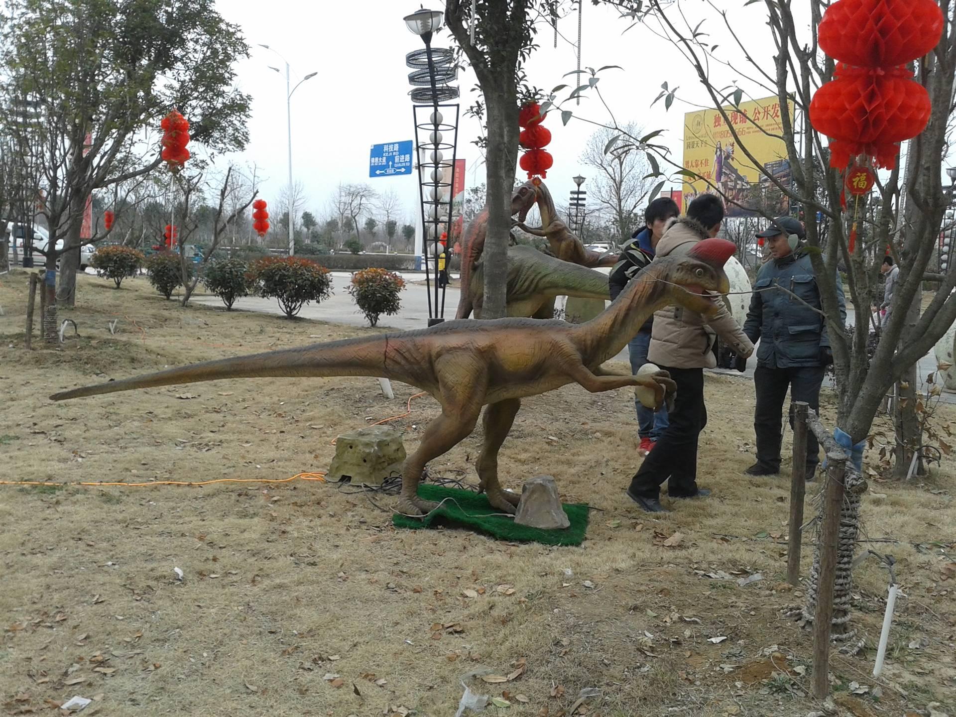 恐龙模型道具出租