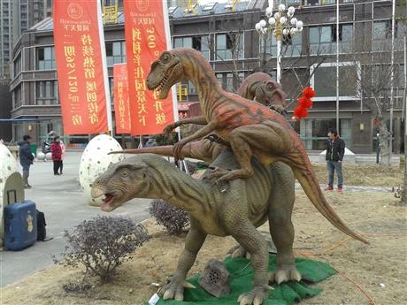火爆来袭恐龙出租